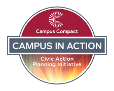 Campus in action badge