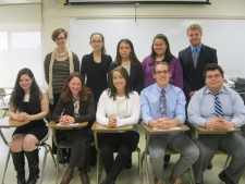The Honors College Spring 2016 Capital Interns