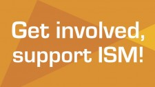 get involved, support ism graphic