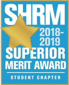 Pictured is the SHRM 18-19 Superior Status logo.