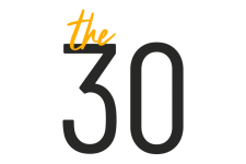 Pictured is The 30 logo.