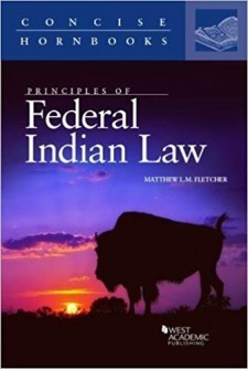 Book cover: Principles of Federal Indian Law by Matthew L.M. Fletcher; Concise Books.
