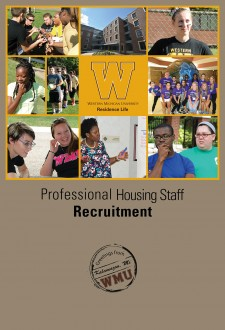 Professional Staff Recruitment Brochure