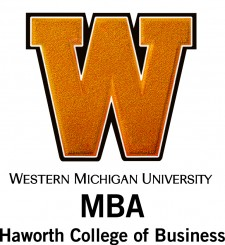 Stacked MBA logo