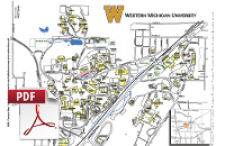 Wmu Campus Map Printable Maps | Campus Maps | Western Michigan University