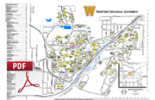 Printable Maps Campus Maps Western Michigan University