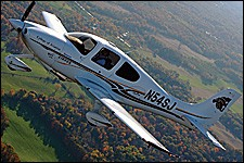Photo of WMU aircraft in flight.