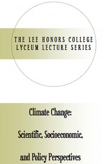 Photo of poster for lecture series.