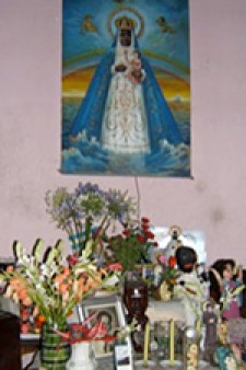 Photo of religious shrine.