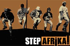 Photo of Step Afrika! flyer.