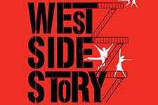 Photo of West Side Story poster.