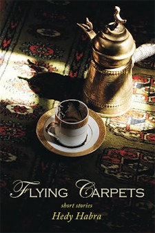 Photo of cover of book titled Flying Carpets.