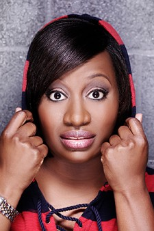 Photo of comedian Erin Jackson.