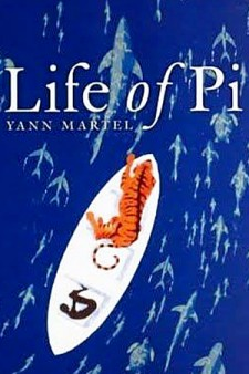 Photo of Life of Pi book cover.