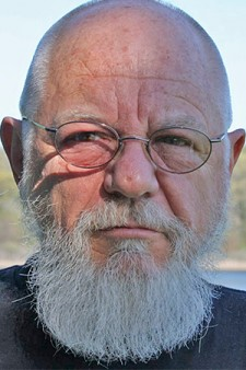 Photo of professor emeritus of art Charles Stroh.