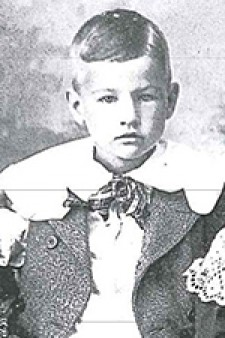 Photo of Homer Stryker as a child.