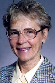 Photo of Dr. Shirley Van Hoeven.