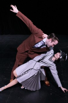 Photo of cast members from Thoroughly Modern Millie.