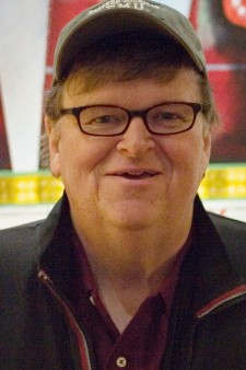 Photo of Michael Moore.