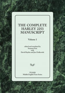 Cover image of The Complete Harley Manuscript: the title on a pale green square, over a dark green marble-patterned background
