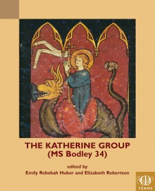Cover image of The Katherine Group (Bodley MS 34): Saint Margaret bursting from the dragon's back, Madame Marie's picture book, fol. 100, Bibliotheque nationale de France