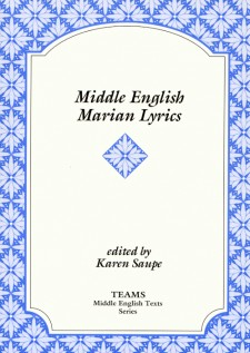 Middle English Texts | Medieval Institute Publications