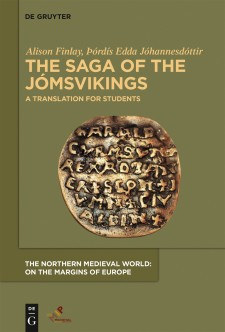 Cover image of The Saga of the Jómsvikings: A Translation for Students: The Curmsun disc. Photo by Thomas Sielski, image enhancement by Donald Jensen, Unisats Aps. Licensed under CC BY-SA 3.0.