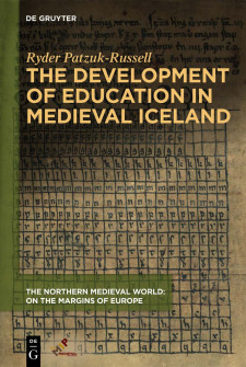 Cover image of The Development of Education in Medieval Iceland, by Ryder Patzuk-Russell