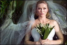 "Photo of Kirsten Dunst in ""Melancholia."""