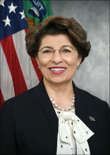 Photo of U.S. Treasurer Jovita Carranza.