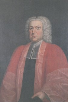 Portrait of Richard Rawlinson.