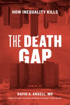 "Photo of the cover of the book, ""The Death Gap."""