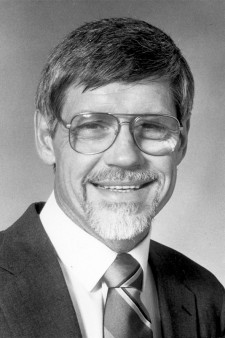 Photo of George Dennison in 1987.