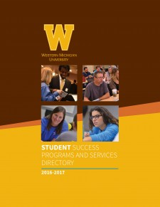 Picture of the cover of the Student Success Programs and Services Directory.