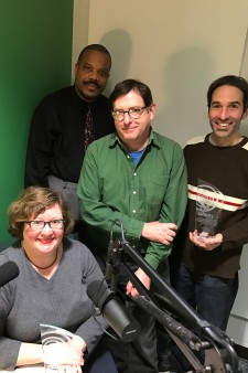 Photo of Cara Lieurance, Stephen Williams, David Marlatt and Martin Klemm.