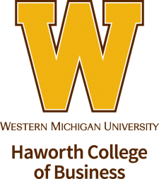 W and Haworth College of Business logo
