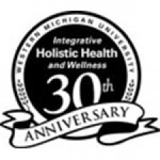 WMU integrative holistic health and wellness 30th-anniversary seal.