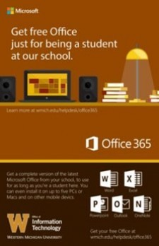 Get free Office just for being a student at our school