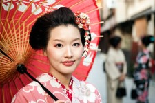 Photo of Japanese woman.
