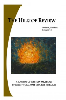 The Hilltop Review cover.