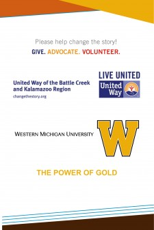 2016 WMU United Way poster.