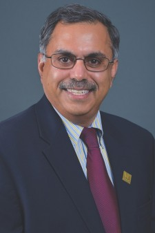 Head-and-shoulders photo of Dr. Satish Deshpande, WMU.