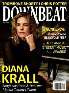 Downbeat magazine cover, June 2017.
