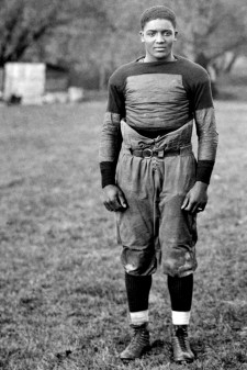 Photo of Sam Dunlap, WMU's first black student-athlete.
