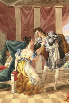 Artwork depicting The Marriage of Figaro.