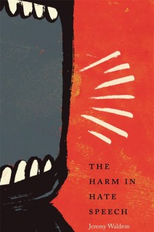 Book cover: The Harm in Hate Speech.