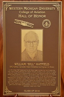 Photo of Hall of Honor induction plaque.