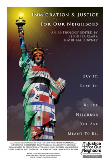 Immigration and Justice for our Neighbors book cover.