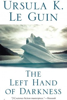 Book cover: The Left Hand of Darkness.