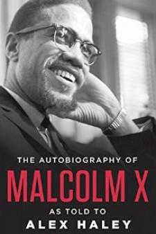 Autobiography of Malcolm X as told to Alex Haley book cover.